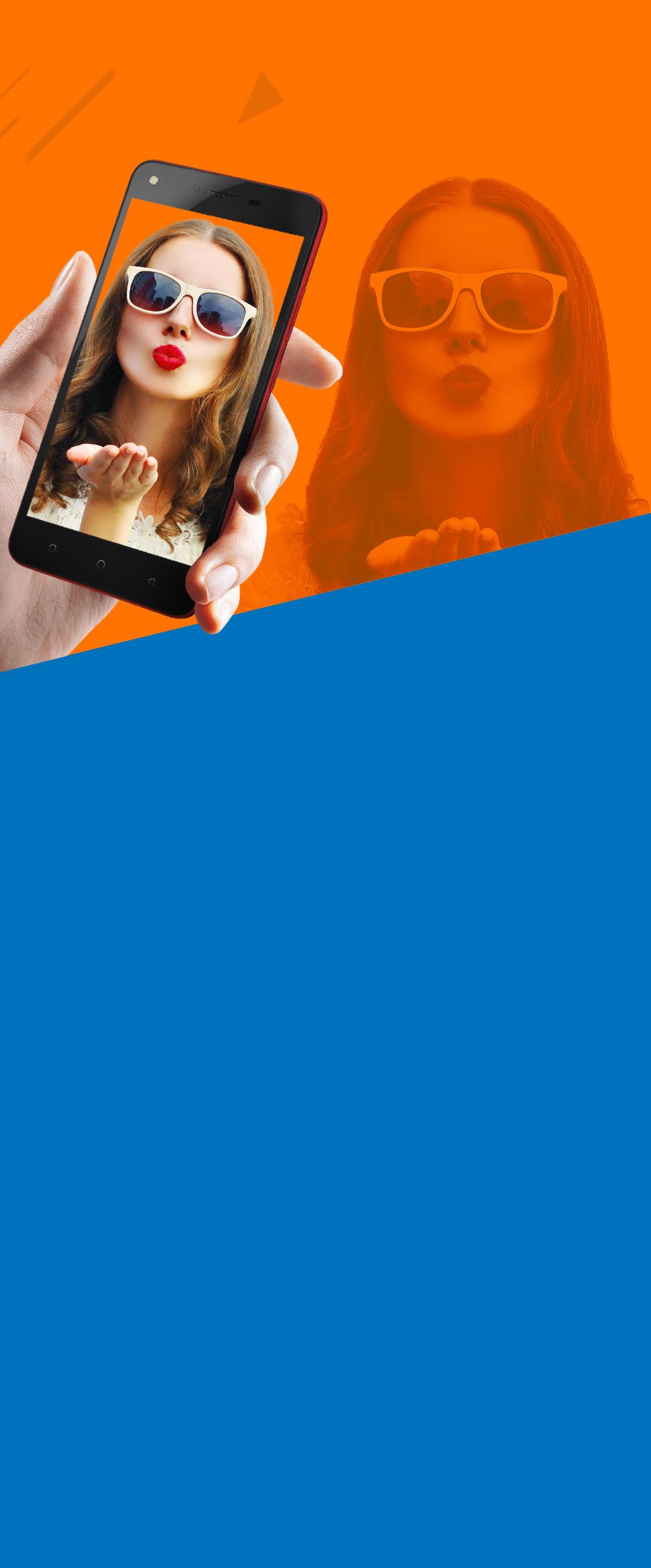 Tecno Spark K7 - 2GB Ram - 16GB Rom - Fingerprint - Blue
