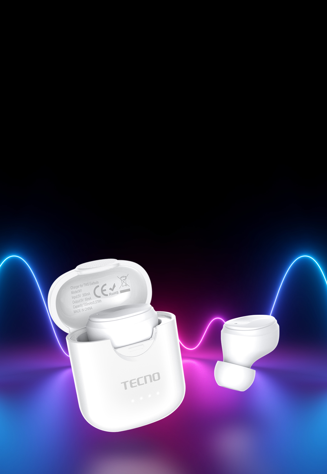 TECNO Bluetooth Earbuds