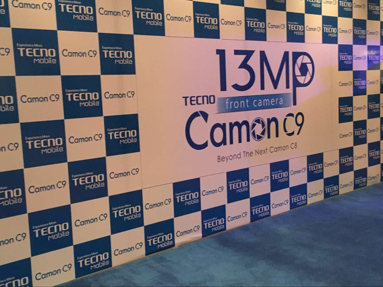 TECNO unveils Camon C9, first dual 13.0MP Front/ Back camera phone