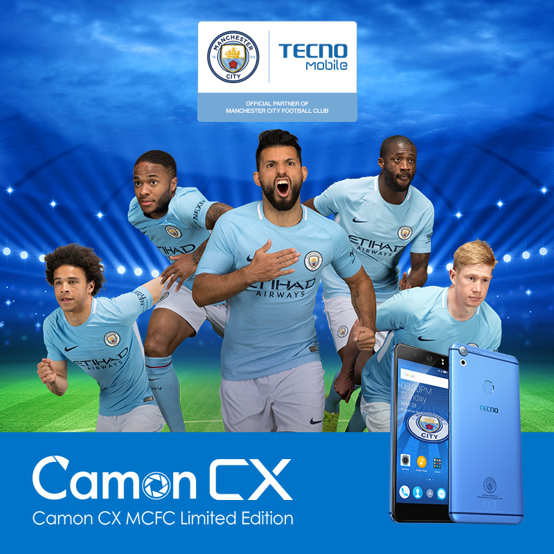 TECNO Mobile, Camon CX Manchester City Limited Edition