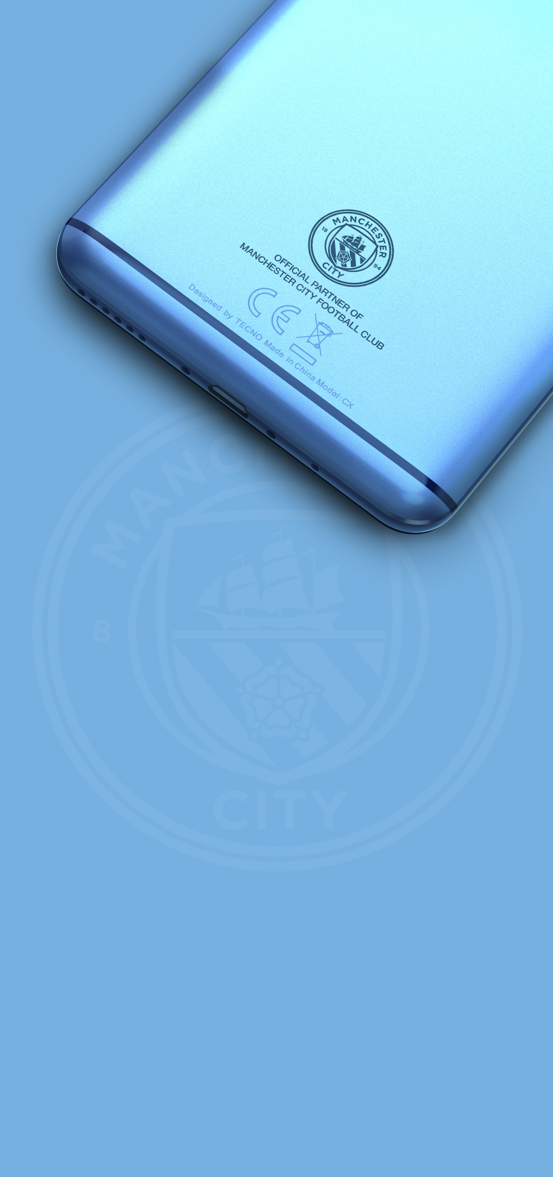 Camon CX Manchester City Limited Edition - TECNO Mobile