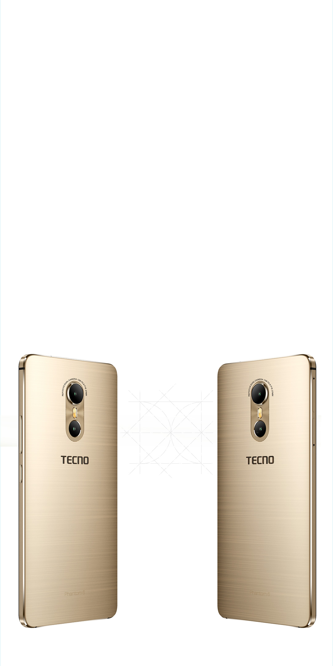 TECNO Phantom 6, Aesthetic Symmetry