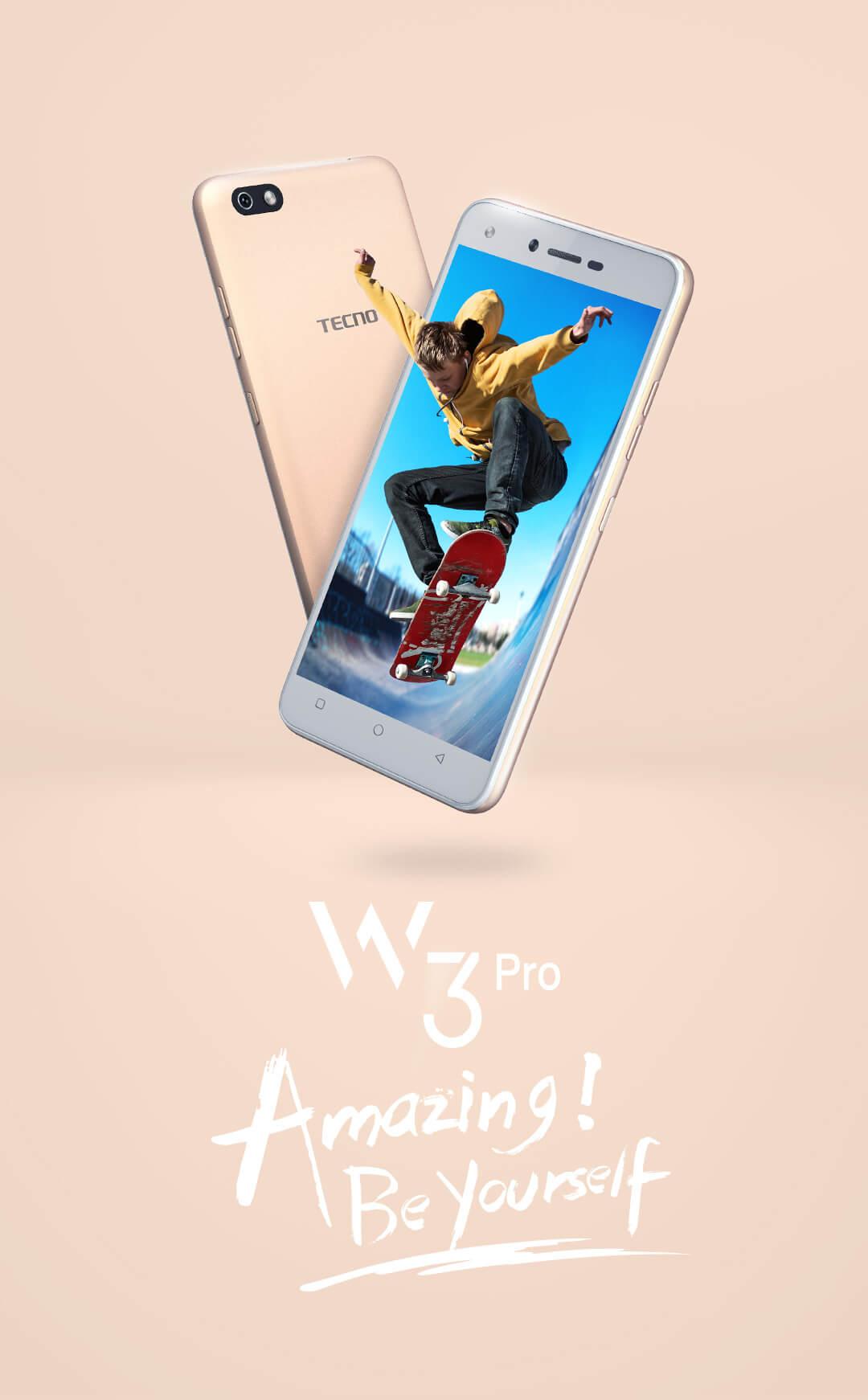 W3 Pro - TECNO Mobile