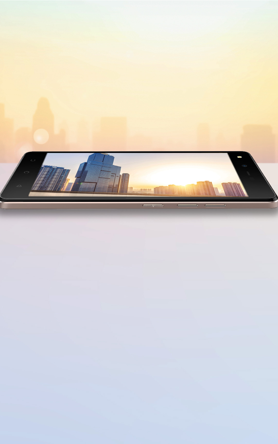 TECNO W3LTE, Larger Screen