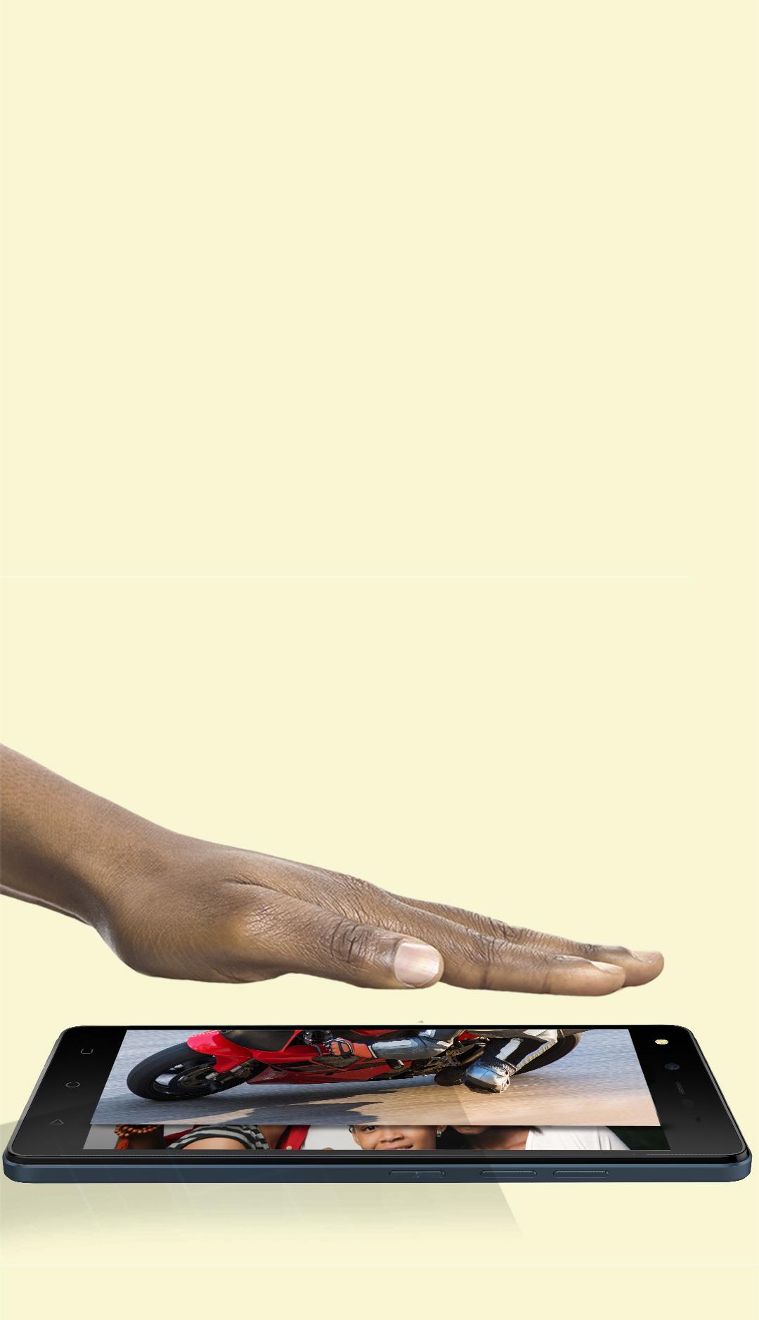 TECNO W3LTE, Air Gestures, Smart Gesture Control