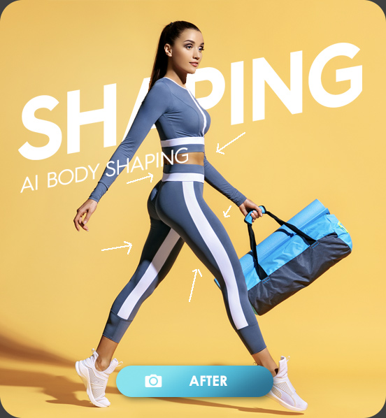 After AI Body Shaping