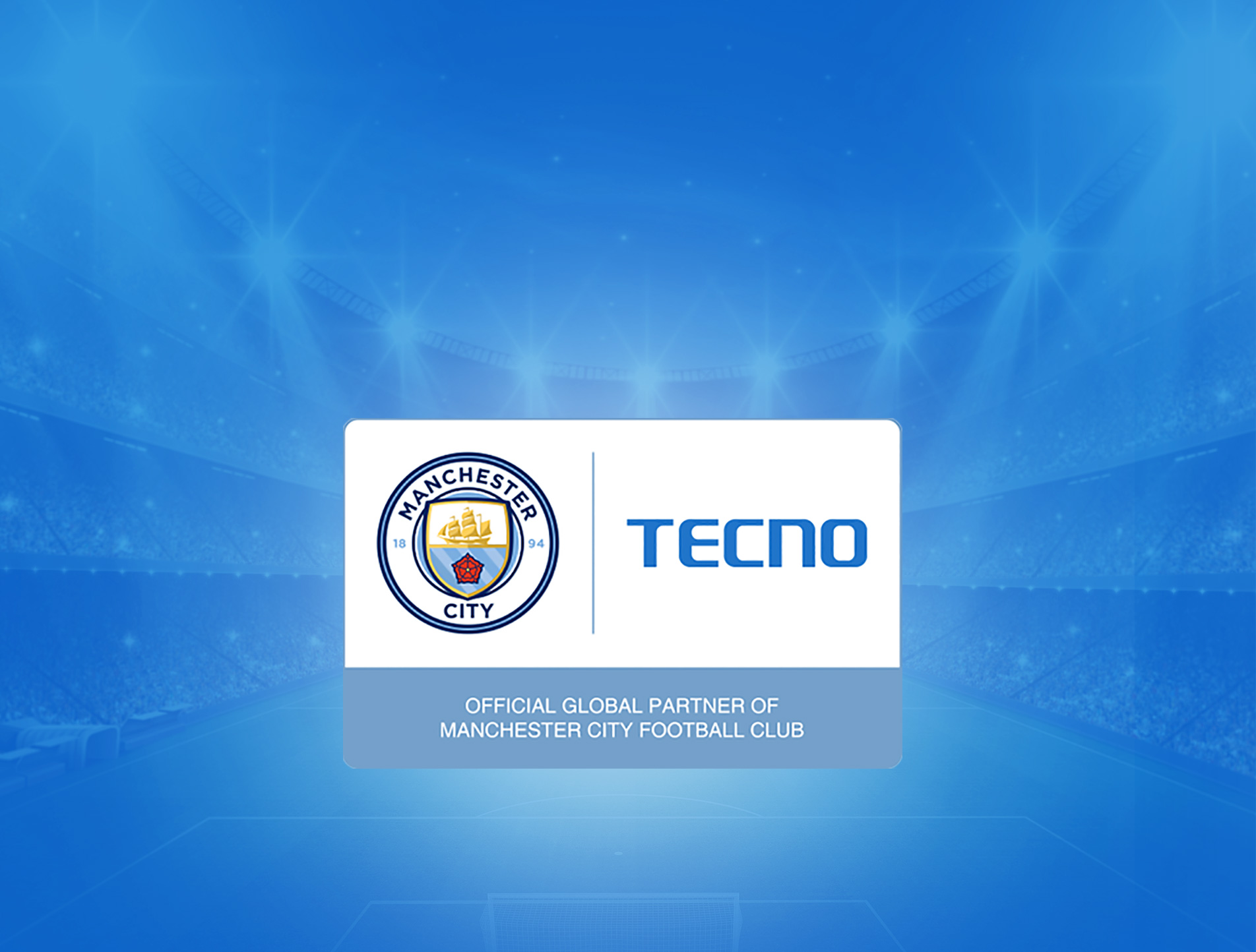 TECNO Global Partner of Manchester City Football Club