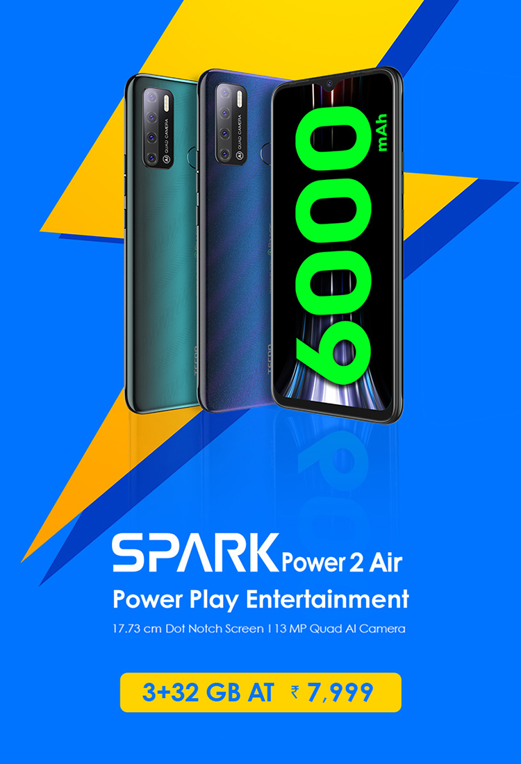 32 GB Spark Power 2 Air